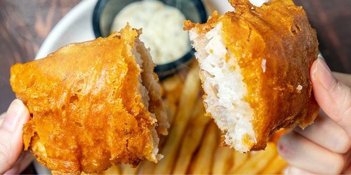 Fish & Chips from The Wine & Gourmet Friends in Chinatown, Singapore