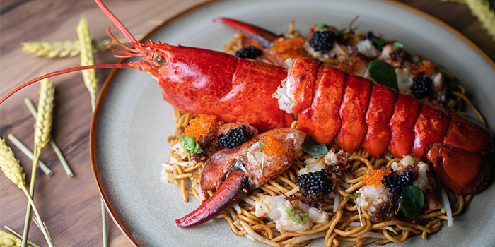 Saffron Lobster Linguine from The Wine & Gourmet Friends in Chinatown, Singapore