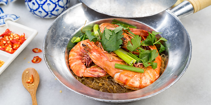Claypot Glass Noodle with Prawn from Thonglor Thai Cuisine (Ang Mo Kio) in Ang Mo Kio, Singapore