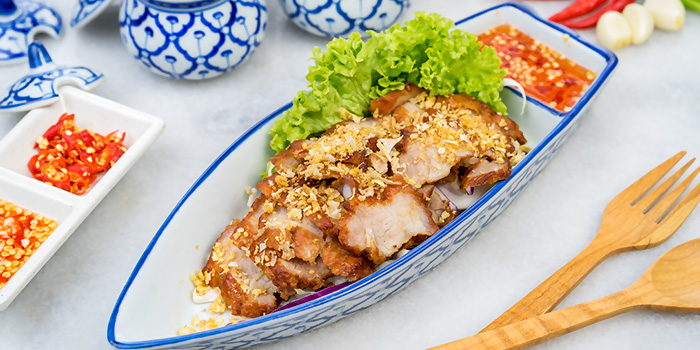 Deep Fried Pork with Garlic from Thonglor Thai Cuisine (Ang Mo Kio) in Ang Mo Kio, Singapore