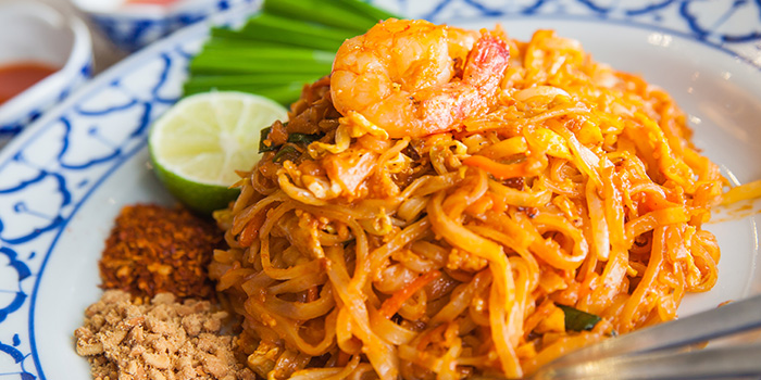 Phad Thai with Prawn from Thonglor Thai Cuisine & Seafood (West Coast) at West Coast Plaza in West Coast, Singapore