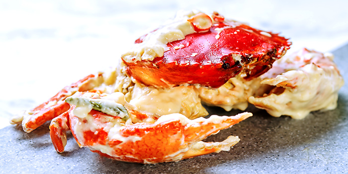 Butter Crab from Tiffany Cafe & Restaurant in Chinatown, Singapore