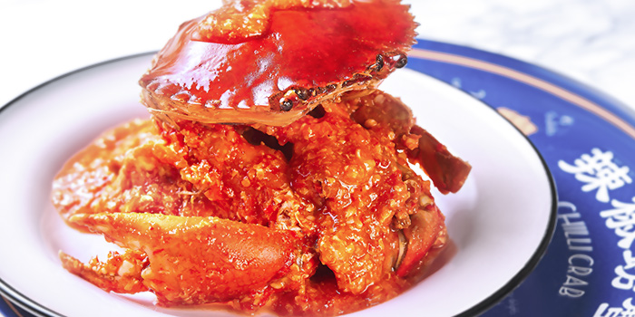 Chilli Crab from Tiffany Cafe & Restaurant in Chinatown, Singapore