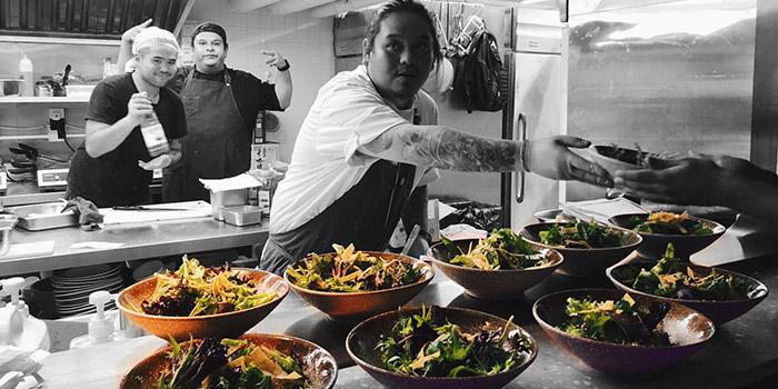 Salad, Strokes HK, Causeway Bay, Hong Kong