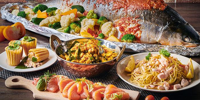 Salmon Showdown from J65 @ Hotel Jen Tanglin at Hotel Jen in Tanglin, Singapore