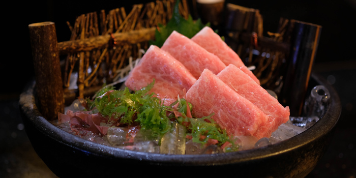Sashimi Dishes from Sushi Oku at 93,95 K Village, Lock B103 Soi Sukumvit 26, Klongton, Klongtoey, Bangkok,
