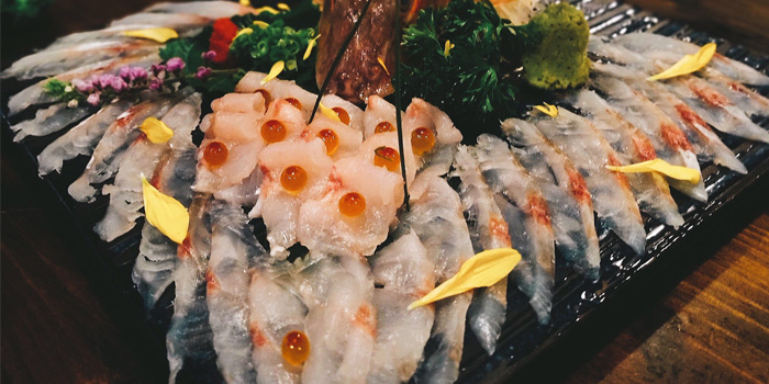 Sashimi, Nan Ei Sui San, Tsim Sha Tsui, Hong Kong