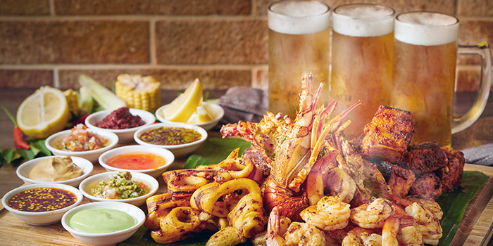 Seafood BBQ and Beer from J65 @ Hotel Jen Tanglin at Hotel Jen in Tanglin, Singapore
