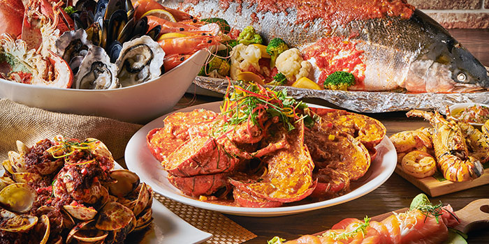 Seafood Buffet Dinner from J65 @ Hotel Jen Tanglin at Hotel Jen in Tanglin, Singapore