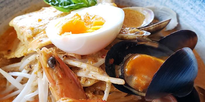 Singapore Seafood Laksa, MoMo Cafe (Sai Ying Pun), Sai Ying Pun, Hong Kong