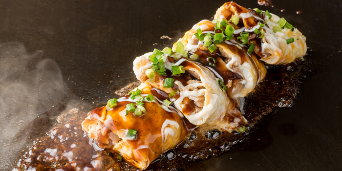 Soboro Beef Omelette at Chibo, Gandaria City