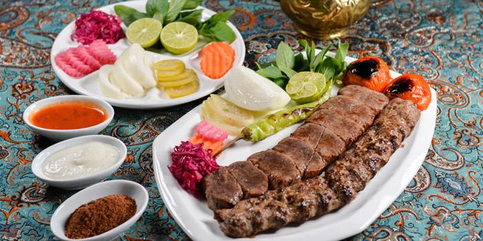 Special Dishes from Persian House at 48/2-3 (Soi Wat Khak) Pan Road, Silom Bangkok