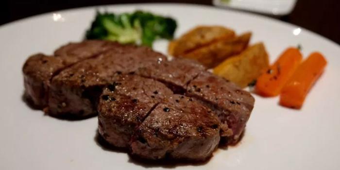 Steak Dishes from Teppan Dining Rakuu at Sukhumvit 33 Alley Khlong Tan Nuea, Khet Watthana Bangkok