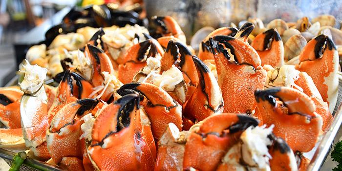 Stone Crabs from Atrium Restaurant in Holiday Inn Singapore Atrium in Outram, Singapore
