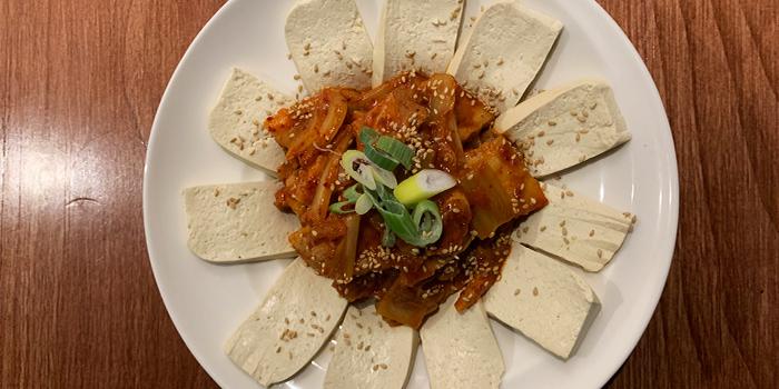 Tofu Kimchee from Honey Night 꿀밤 in Paya Lebar, Singapore