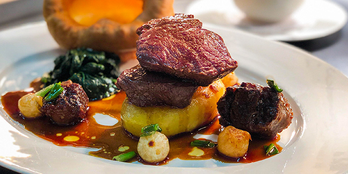 Traditional Roast Beef from The English House by Marco Pierre White in Robertson Quay, Singapore