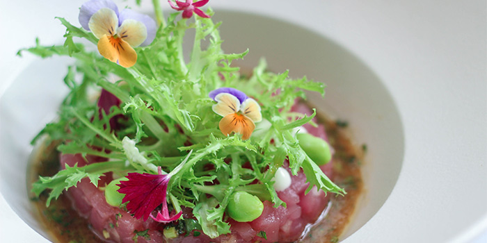Tuna Tartar at Collage All Day Dining