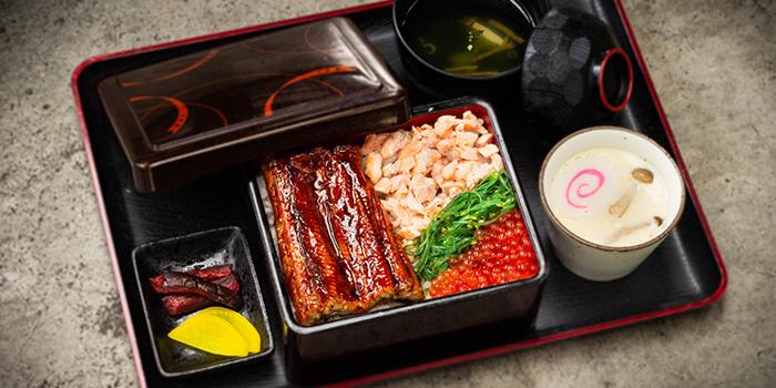 Unagi & Salmon Ikura Ju from Una Una at Bugis+ in Bugis, Singapore