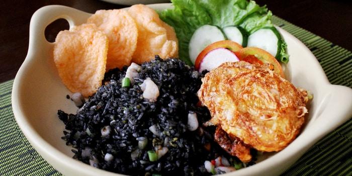 Nasi Goreng Tinta Cumi Seafood at Patio Venue & Dining, Jakarta