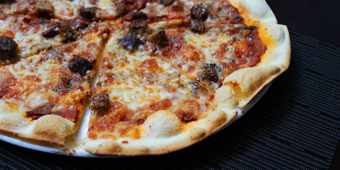 Pizza Rendang at Patio Venue & Dining, Jakarta