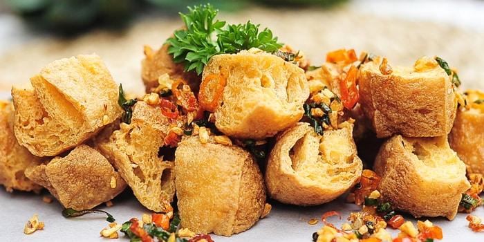 Rawit Fried Tofu at Open Door