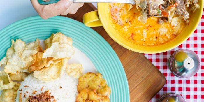 Dish 1 at IndoDiner Bar & Diner