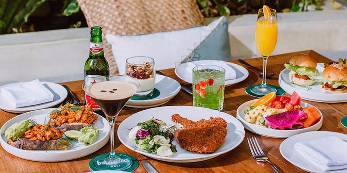 Food from Botanica, Seminyak, Bali