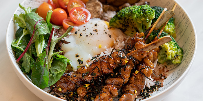 Yakitori Chicken Grain Bowl from The Coffee Academics (Scotts Square) at Scotts Square in Orchard, Singapore