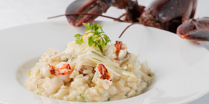 Armagnac Lobster Risotto, DALLOYAU (Admiralty), Admiralty, Hong Kong