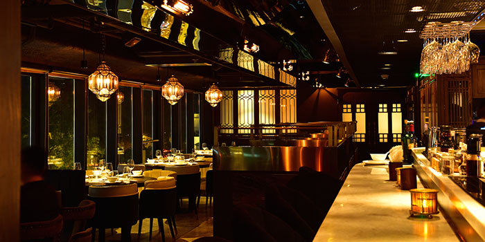 Bar, 1935 Restaurant, Central, Hong Kong