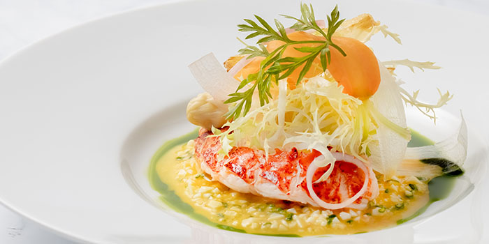 Seared Lobster & white aspargus salad, DALLOYAU (Admiralty), Admiralty, Hong Kong