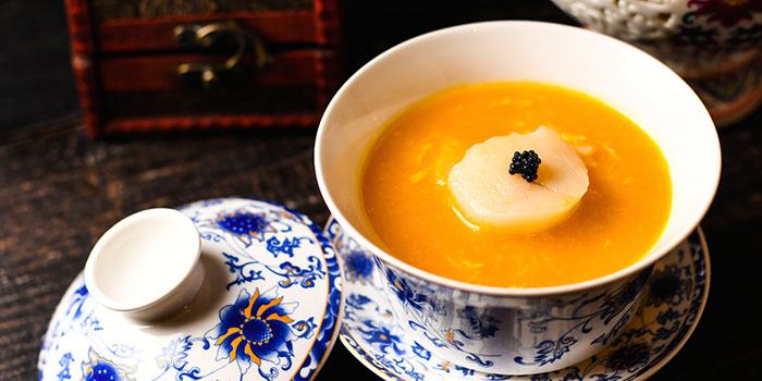 Soup Scallop Pumpkin, 1935 Restaurant, Central, Hong Kong