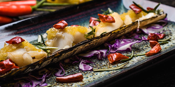 Razor Clam, 1935 Restaurant, Central, Hong Kong