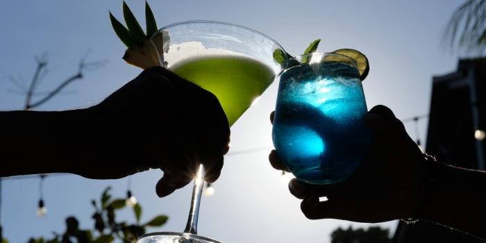 Drinks from The Greenhouse, Canggu, Bali
