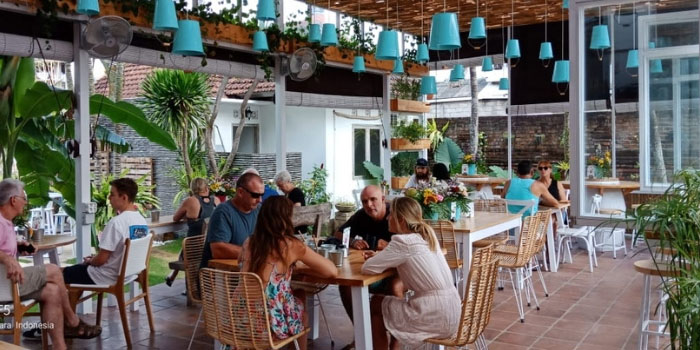 Exterior from The Greenhouse, Canggu, Bali