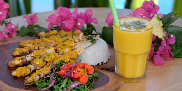 Food from The Greenhouse, Canggu, Bali