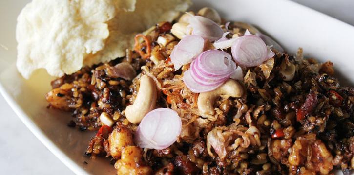 Nasi Goreng Keling at Plataran Dharmawangsa