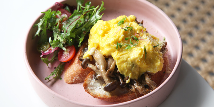 Eggs on Toast from Herringbone at 26/1 Sukhumvit 53 Alley Khlong Tan Nuea, Wattana Bangkok