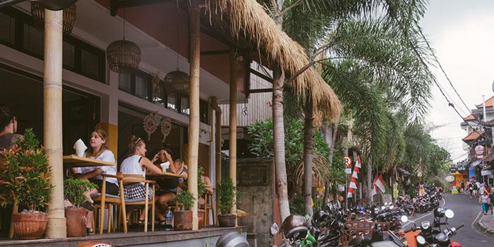 Exterior from Kyoka Japanese Kitchen, Ubud, Bali