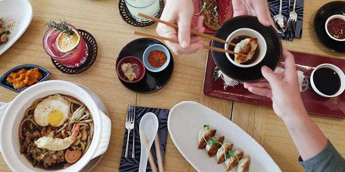Food from Kyoka Japanese Kitchen, Ubud, Bali