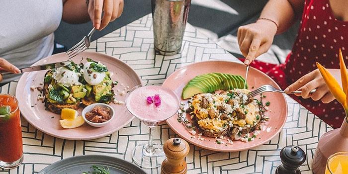Food at Sea Circus, Bali