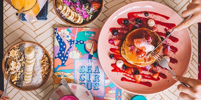 Breakfast at Sea Circus, Bali