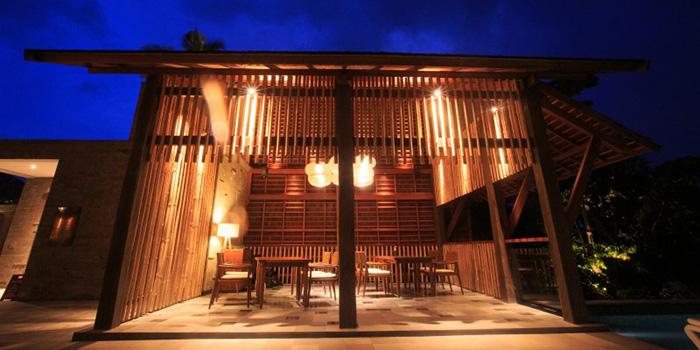 Interior from Kalyana Restaurant, Ubud, Bali