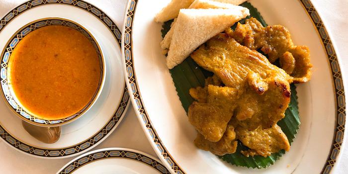 Pork Satay from Methavalai Sorndaeng at 78/2 Ratchadumneon Klang Rd, Phra Nakhon Bangkok