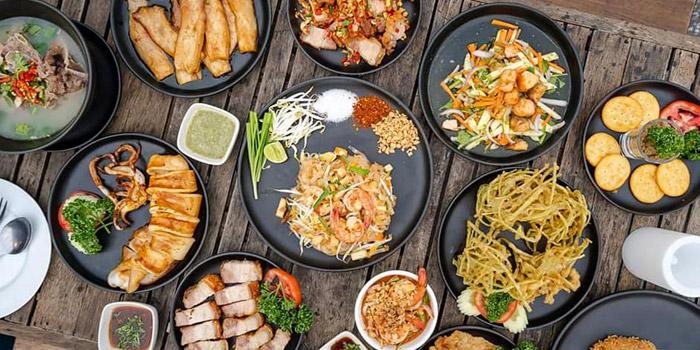 Signature Dishes from Long Tian Bkk at 246 Thai Wang Alley Phra Borom Maha Ratchawang, Phra Nakhon,Bangkok