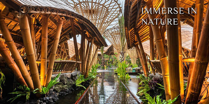 Interior from Wanaku Restaurant, Kuta, Bali
