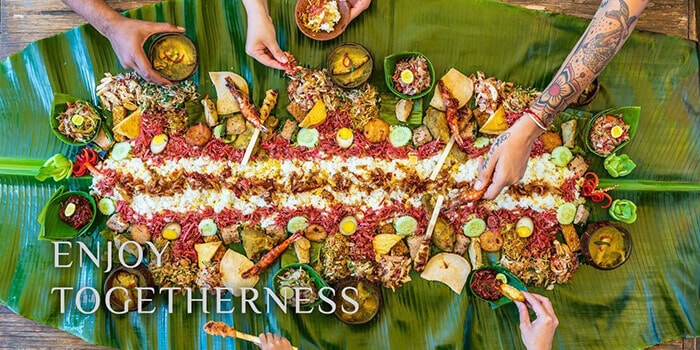 Food from Wanaku Restaurant, Kuta, Bali