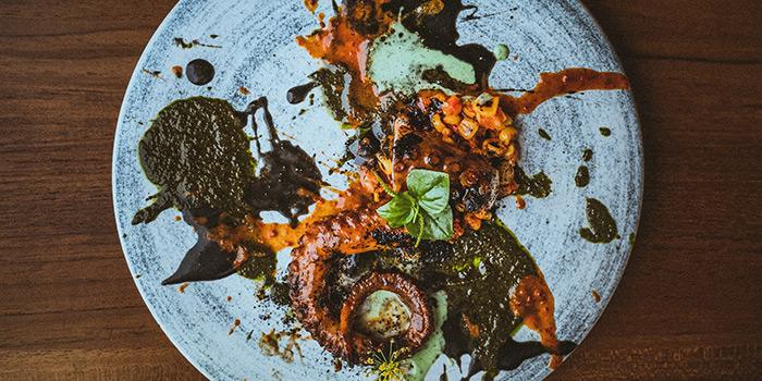 Food from Si Jin Steakhouse, Seminyak, Bali
