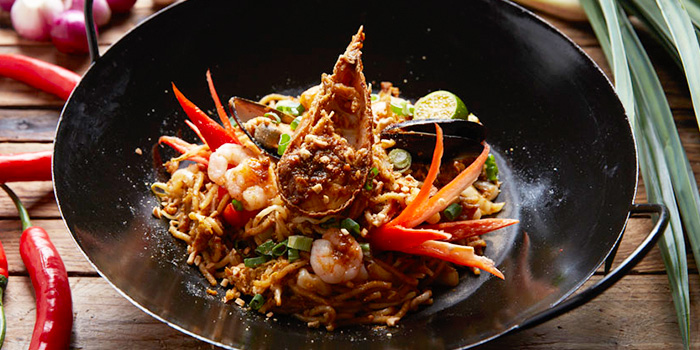 Seafood Mee Goreng from Window on the Park in Holiday Inn Singapore Orchard City Centre in Orchard, Singapore