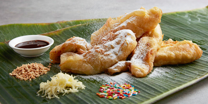 Pisang Goreng from Window on the Park in Holiday Inn Singapore Orchard City Centre in Orchard, Singapore